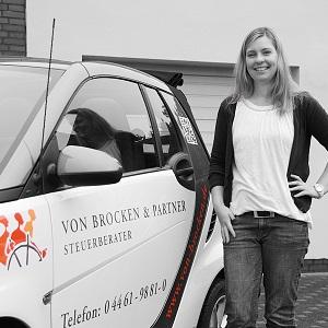 Mirja Riewe, Kauffrau für Bürokommunikation
